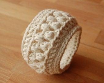 Chunky Crochet Bangle
