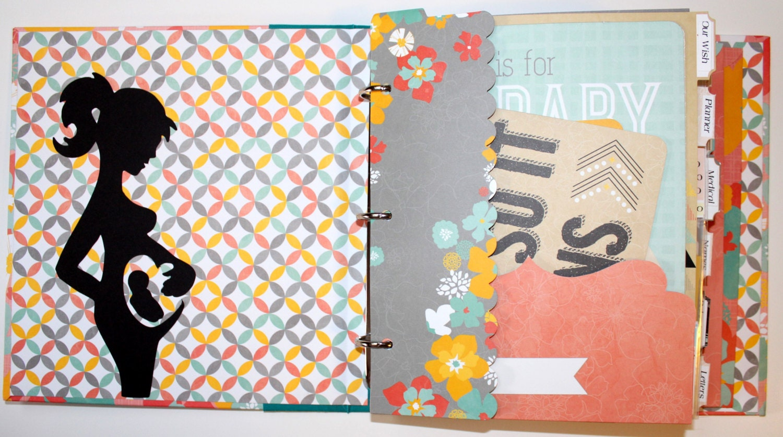 Baby journal scrapbook ideas -  Zoom