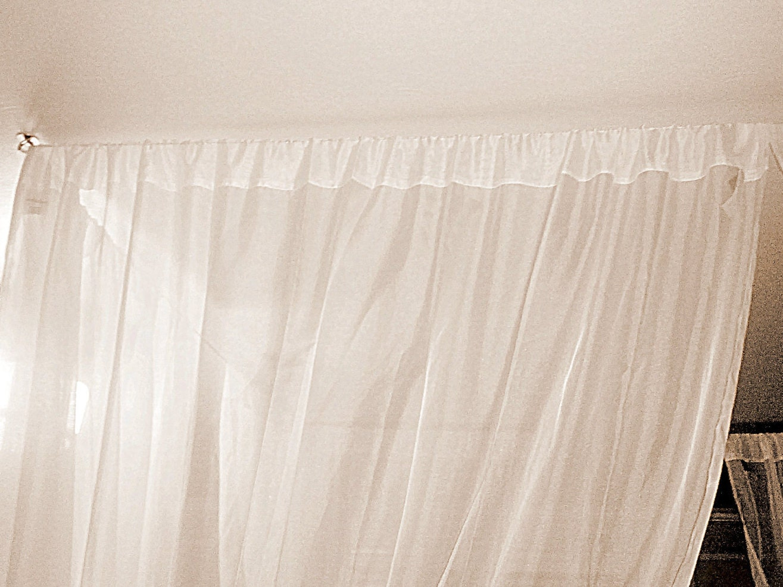 Diy Bed Canopy Kit Custom Shabby Ceiling By Thefiligreefern