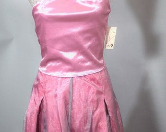 Vintage 1970's Prom Dress. Vintage 1970's  Luly K of New York City Halter Top Prom Dress Size Medium