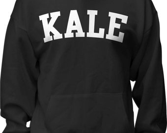 KALE SWEATSHIRt - Kale Shirt - Flawless Sweatshirt - Shirt - Hoodie - Cake by the Pound - unisex - mens - ladies - Black s,m,l,xl,2x