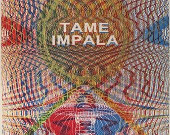 Tame Impala poster - Turner Hall, Milwaukee - 2013