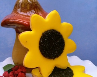 Sunflower Cookie Favors