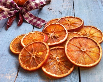 Orange Slices - Hand Dried Craft Supplies