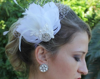 Crystal Stud Wedding Earrings, Bridal Post Earrings, Crystal Vintage Style Bridal Earrings, Bridal Jewelry, Bridemaids Earrings