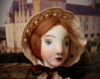 RESERVED Jane Eyre art OOAK doll