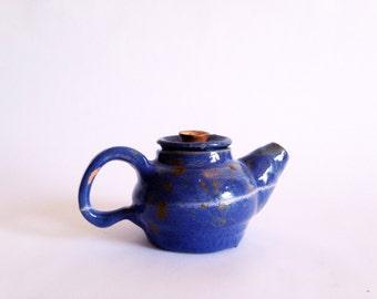 Vintage Studio Pottery Tiny Teapot