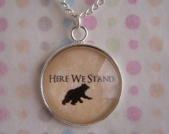 Game of Thrones House Mormont Necklace