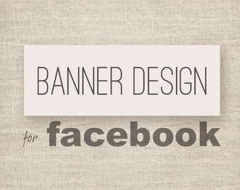 Custom Facebook banner design.