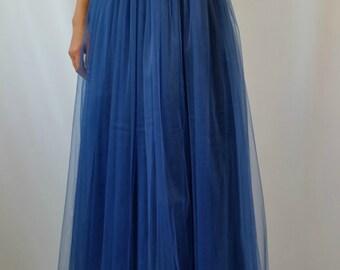Navy blue skirt | Etsy