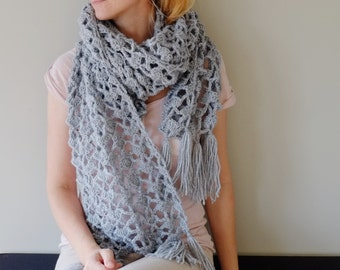 PATTERN To Crochet Long Scarf / Crochet Scarf PATTERN / Pattern PDF - Instant Download / Detailed Instructions In English