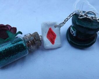 Handmade Alice In Wonderland Charm Bracelet