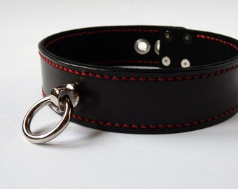 BDSM Leather Collar