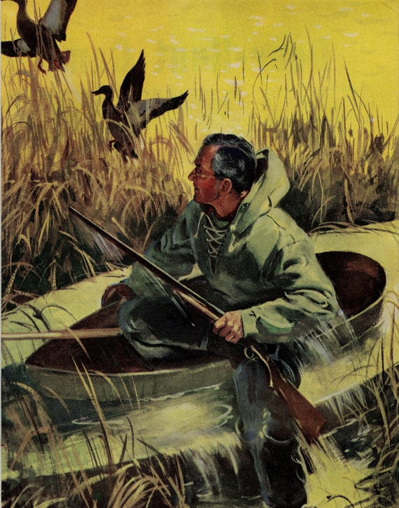Vintage Duck Hunting 30