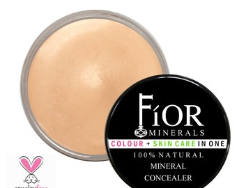 TMC-05 ~ Mineral Cream Concealer ~ 100% Natural, Vegan, Organic, Gluten Free, Soy Free Cover Up Cream