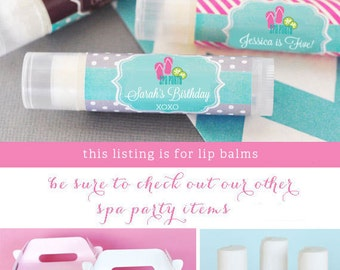 Kids Spa Party Favors - Girls Spa Party Favors Ideas - Spa Birthday Party Favors - Spa Theme Birthday Party (EB3031MDK) set of 16