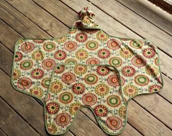 Car Seat Safe Baby Bundle Fleece Wrap Blanket