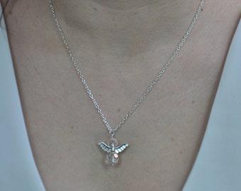 Wedding necklace little angel