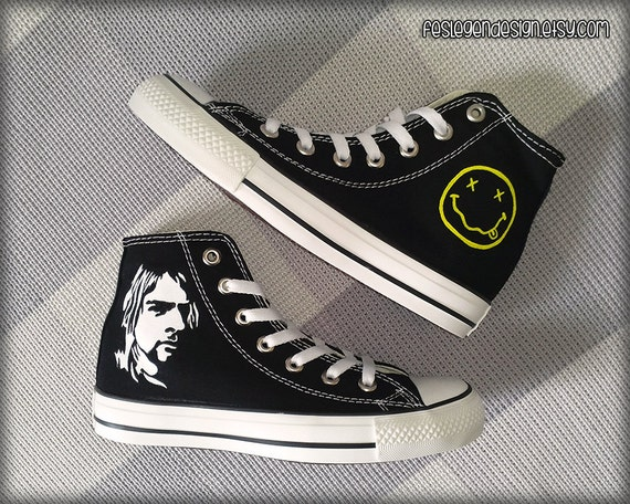 Foo Fighters Converse Shoes