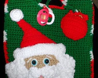 Santa Pacifier Etsy