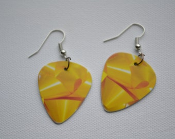 SALE******Hook Guitar Pick Earrings, Bows******SALE