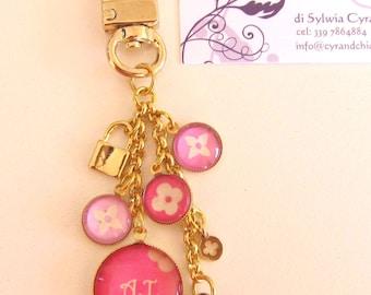 LUXURY Inspired Bag/Key Charm to be customised