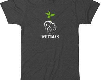 Literary T-Shirt Walt Whitman: Leaves of Grass  Poetry Book Art - Book Lover Gift - Minimalist Literary Gift for Writer  - Teacher Gift