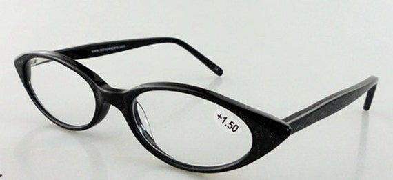 Eyeglass Frames Katy Texas : 1950s 1960s style almond shaped Cat Eye for by retropeepers