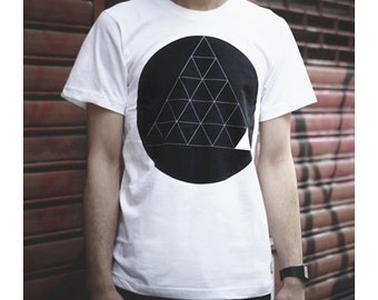 Koon Clothing - Series 303 Geometric Graphic White T-shirt