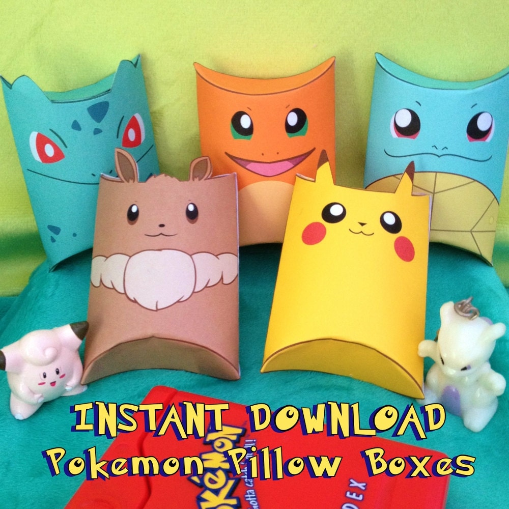 Pokemon Bedroom Decor Pokemon Pillow Etsy