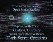 Spirit Guide Reading, Meet Your Guides & Guardians Sent Via PDF