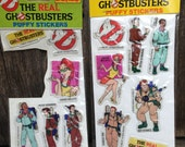 GhostBusters Puffy Stickers Circa 1986
