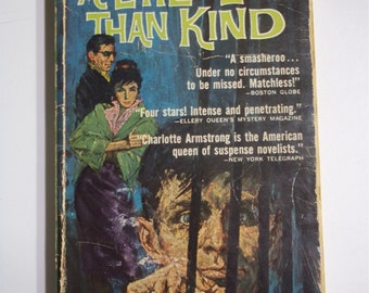 A Little Less Than Kind by Charlotte Armstrong ACE Books G-540 1963 Vintage Mystery Paperback