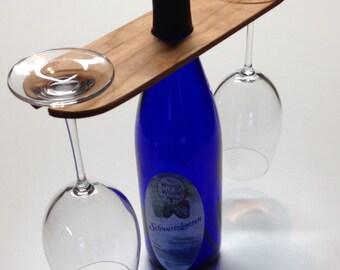 Wine glass rack (two glasses)