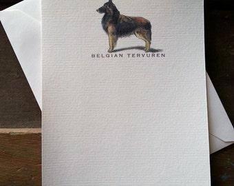 Belgian Tervuren Note Card Set