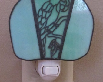 Charming Night Light with Filigree - Parrot  - FREE SHIPPING!!!