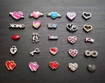 Valentine's Day Floating Charm for Floating Lockets-Gift Ideas for Women