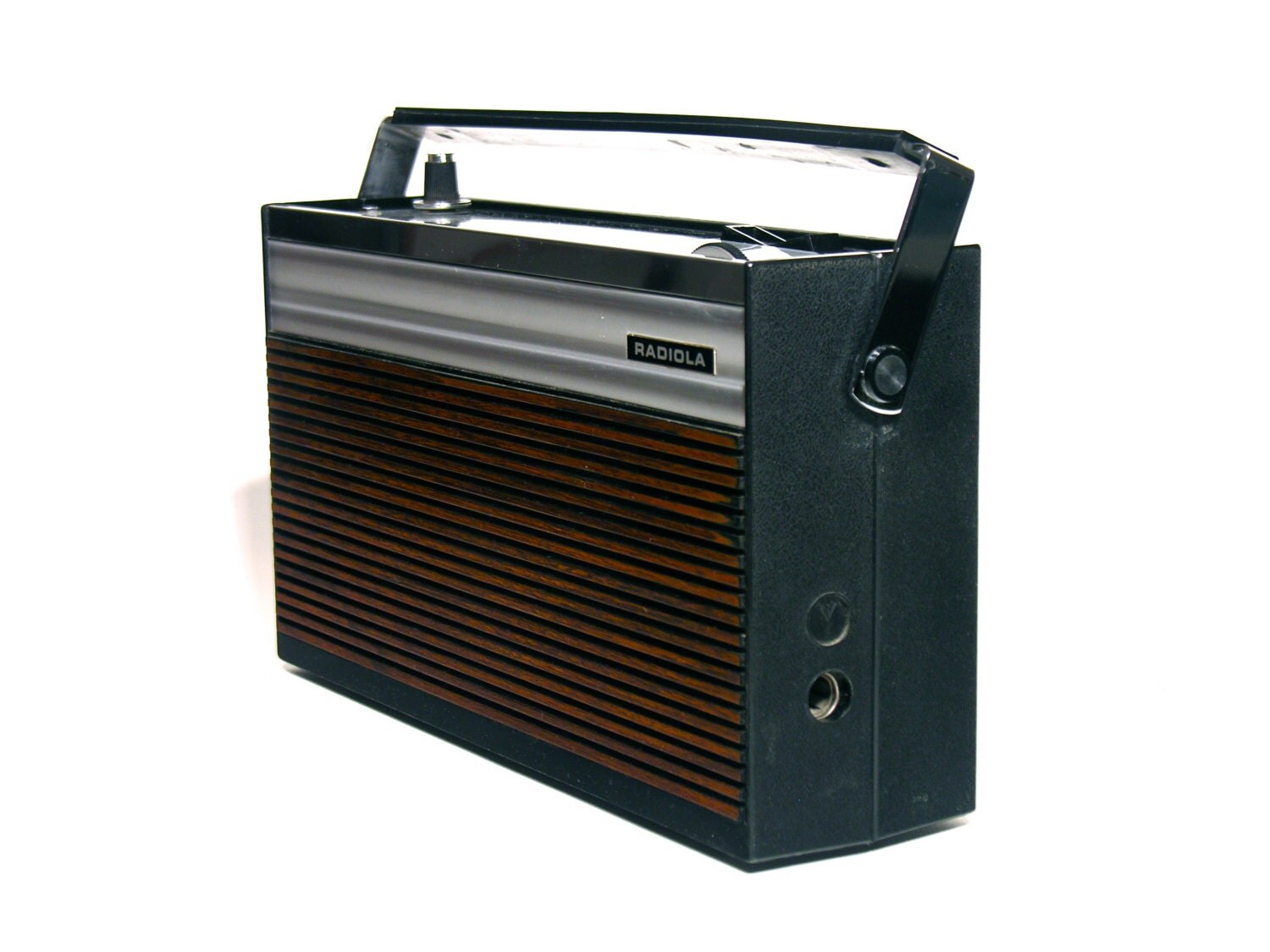 portative transistor french radio po go radiola 1960. Black Bedroom Furniture Sets. Home Design Ideas