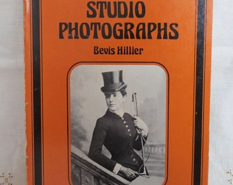 Victorian Studio Photographs - 1976 Paperback Illustrated History