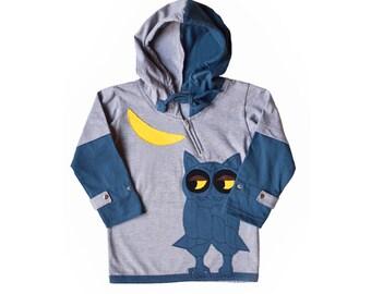 Sly Owl Hoodie - Long Sleeve