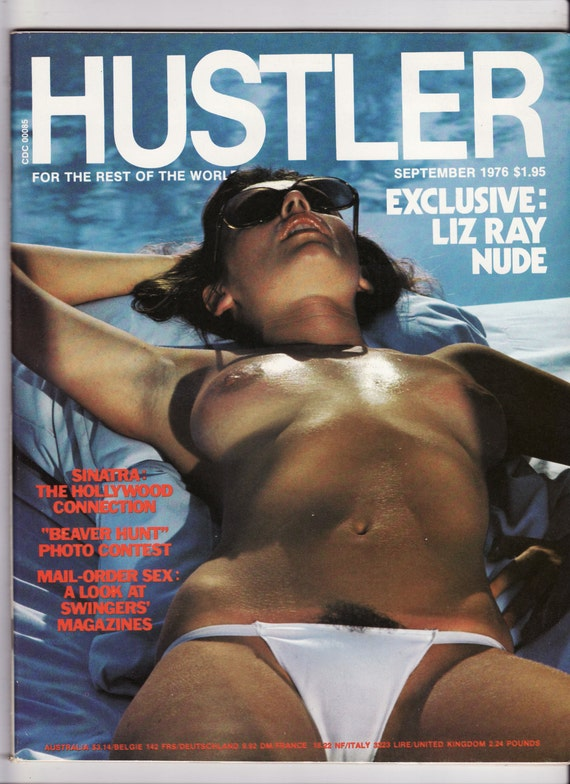 Hustler cover september 2001
