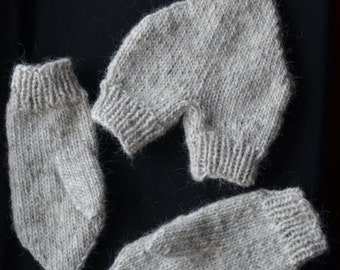 Dual gloves - Valentine's day gift - couple mittens