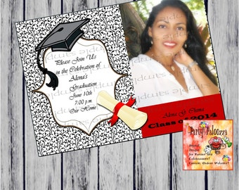 Printable Graduation Annoucement/invitation