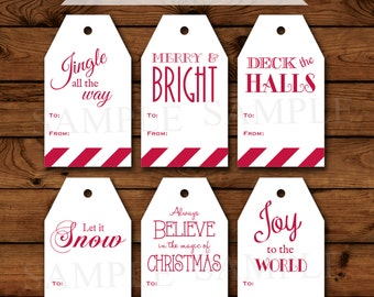 items similar to holiday gift tags wine bottle tags wine labels green snowflakes set of 6