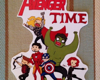 Avenger Time Sticker