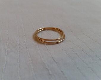 Rose Gold Stack Ring Set, Rose Gold Stacking Ring Set, Stack Ring Set, Stack Rings, Stackable Ring Set, Stacking Rings, Stackable Rings