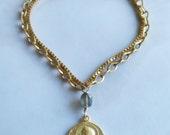 Bracelet - Saint Mary Magdalene Labradorite - 18K Gold Vermeil