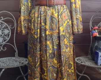 Paisley Princess Perfection with Belled Sleeves