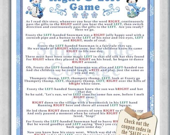 Right Story Game For Birthday