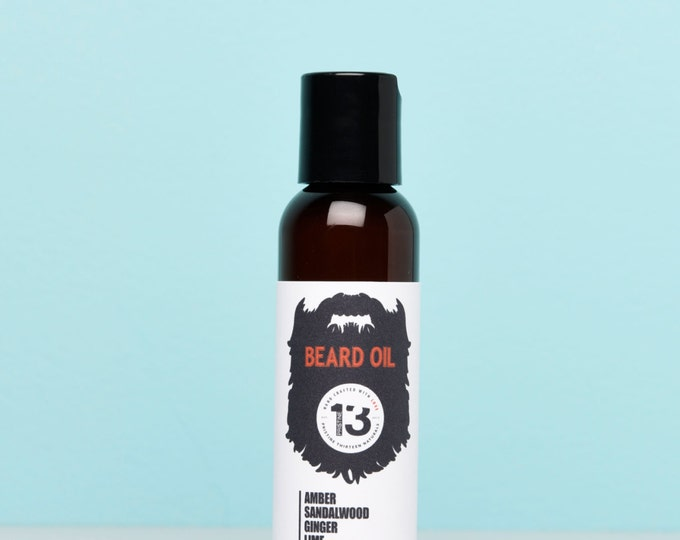 Lime, Ginger, Sandalwood and Amber Beard Conditioning Oil